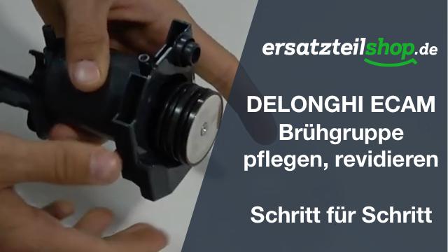 DeLonghi ECAM Brühgruppe Dichtungen tauschen - revidieren