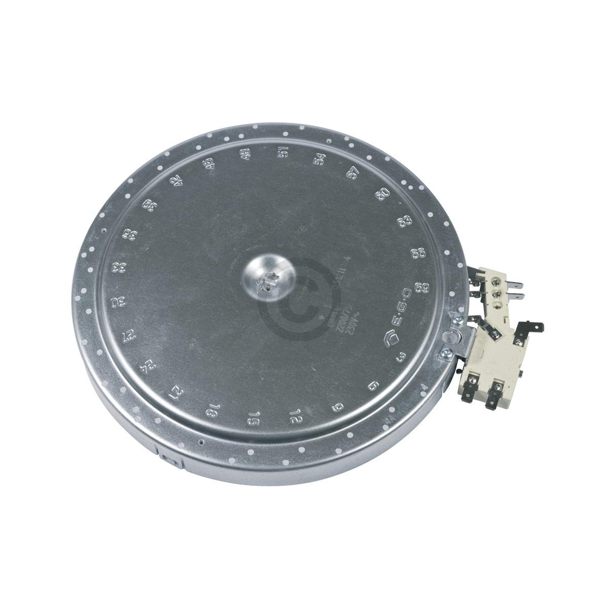 Strahlheizkörper AEG 14005732101/4 Zweikreis 205/120mm EGO 10.51211.084 für