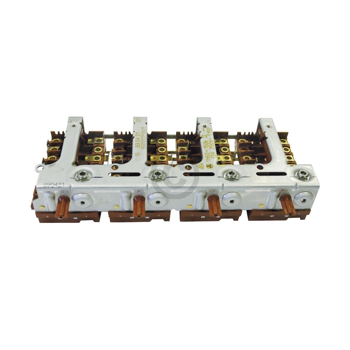 Kochplattenschalterblock Bosch 00496044 Vierereinheit YH60-150bII für Herd