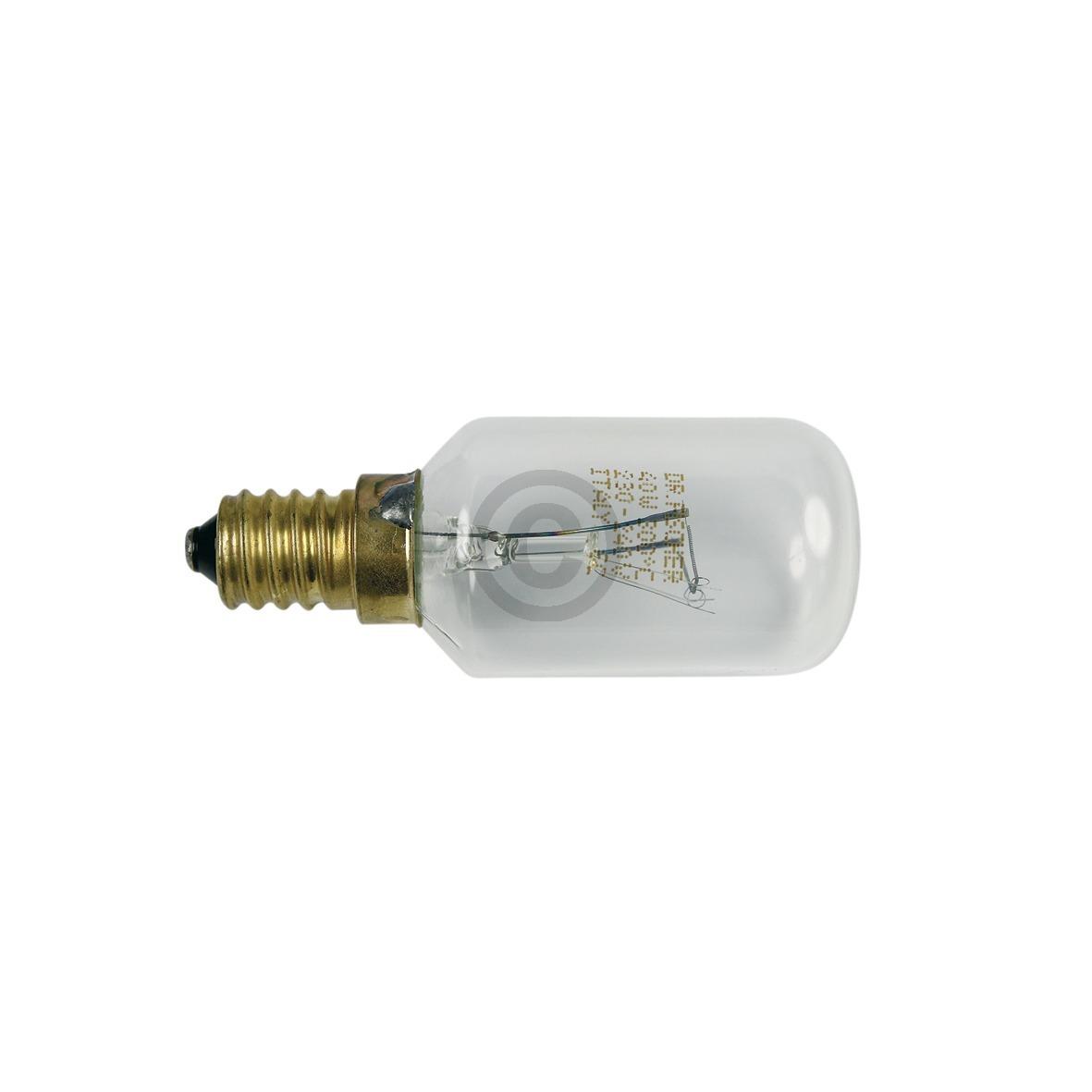 Lampe E14 40W 29mmØ 76mm 230/240V AEG 319256007/0 Original für Backofen