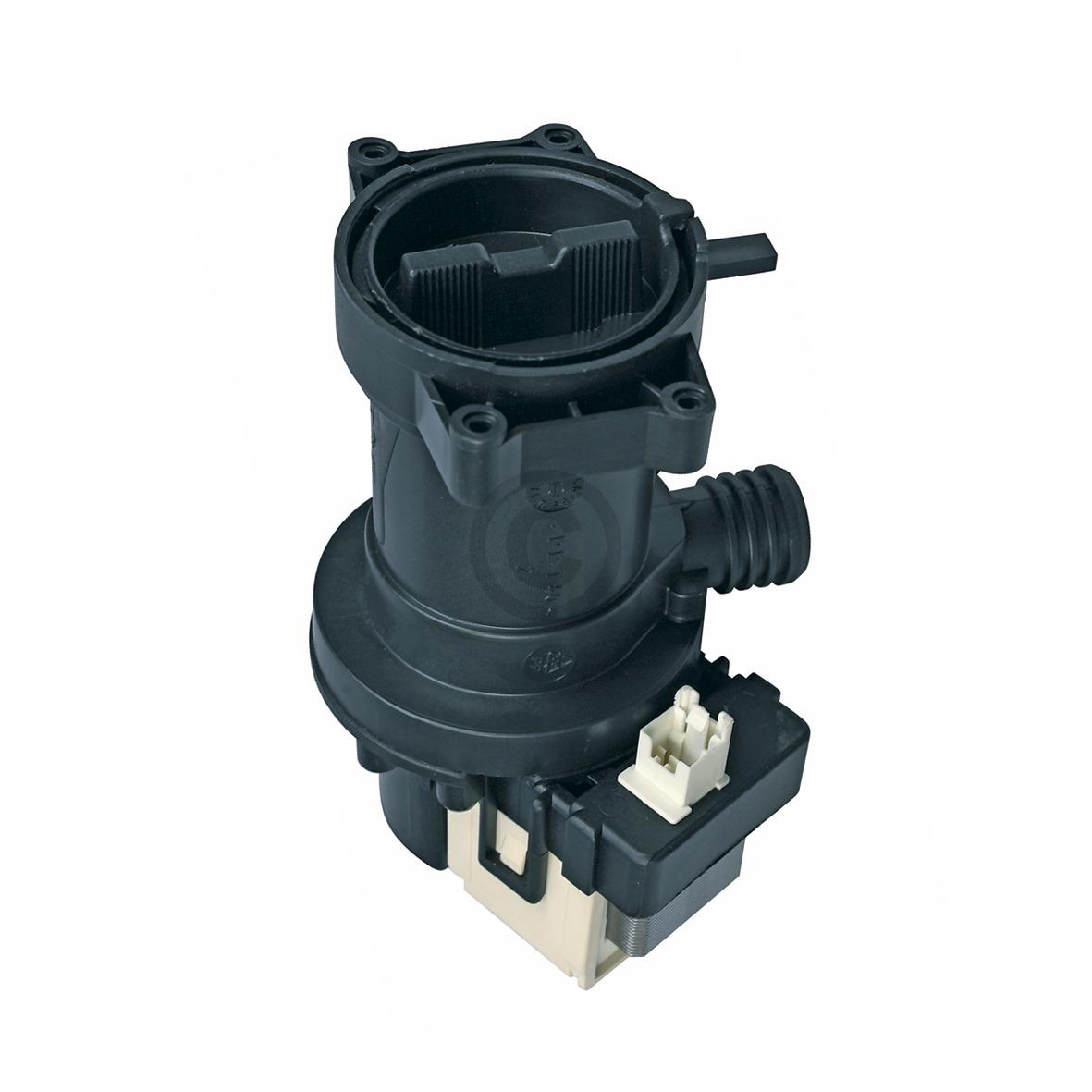 Ablaufpumpe wie Whirlpool 480111100786 461974644711 mit Pumpenkopf und Sieb