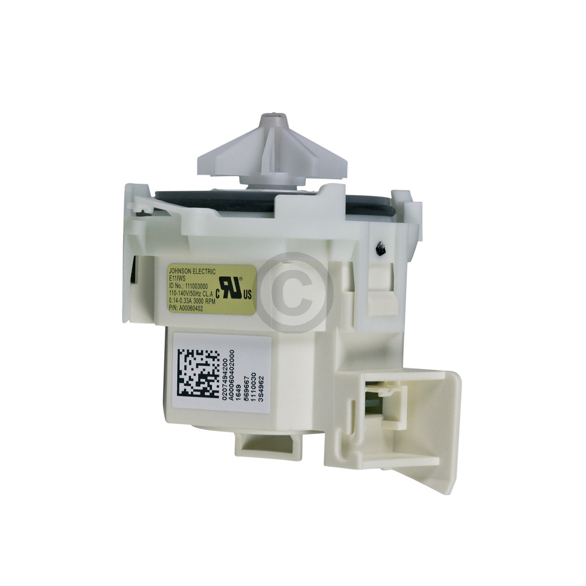 Ablaufpumpe Solo Pumpenmotor Bajonettbefestigung AEG 14000060401/1 Original