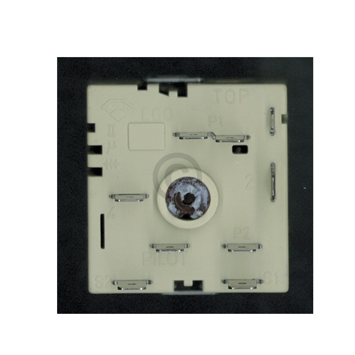 Kochplattenschalter Electrolux 305170621/0 EGO 50.55021.100 ZWEIKREIS