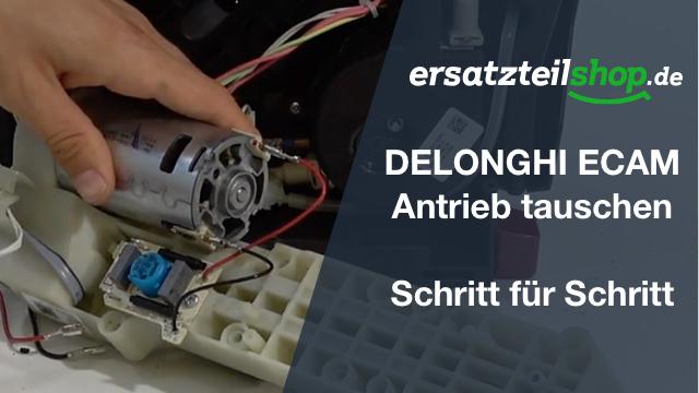 DeLonghi ECAM Antrieb - ausbauen - tauschen
