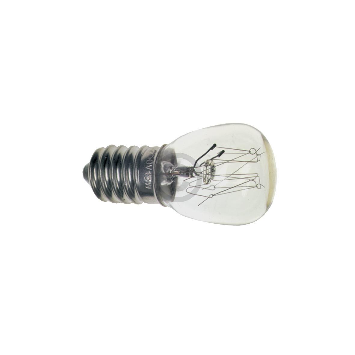 Lampe E14 15W 22mmØ 49mm 230V Universal AEG, Electrolux, Juno, Zanussi