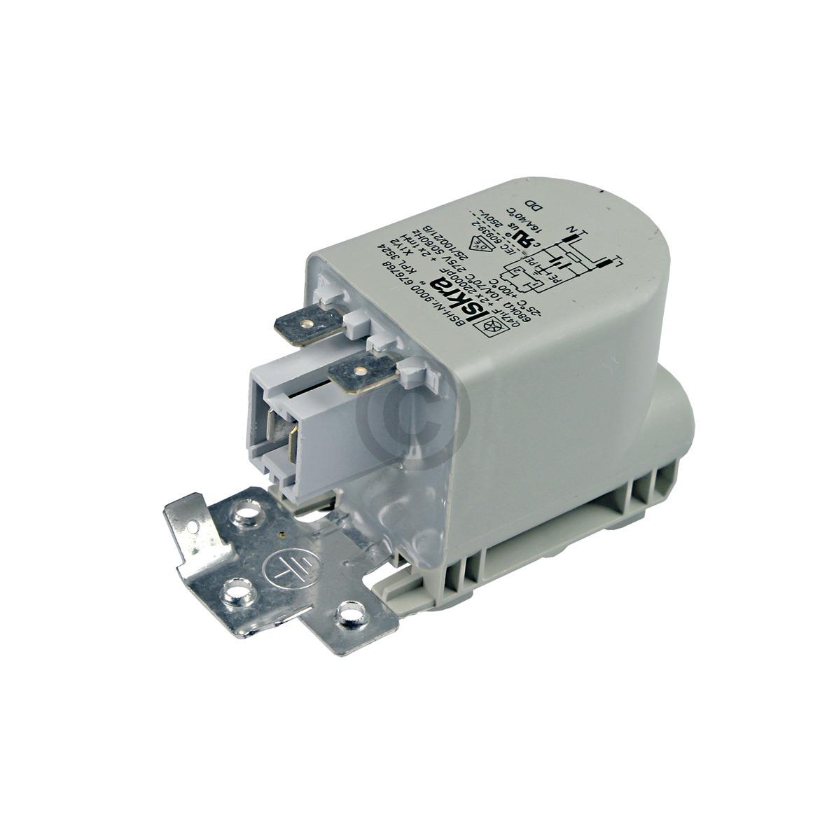 Entstörschutz 0,47µF 00623842 623842 Bosch, Siemens, Neff