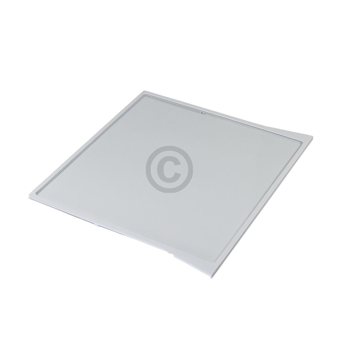 Glasplatte Bosch 00704421 500/455x430mm mit Rahmen für Gemüsefach Kühlschrank