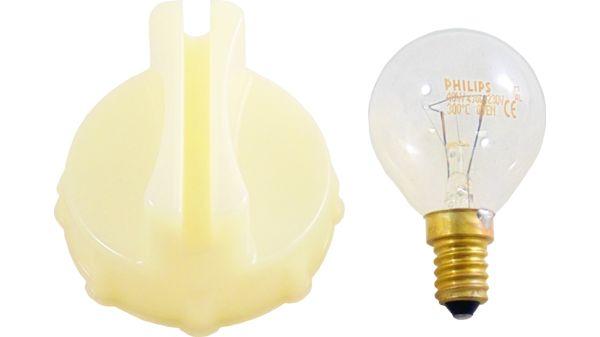 Lampe E14 40W Bosch 00613655 45mmØ 74mm Kugelform für Backofen