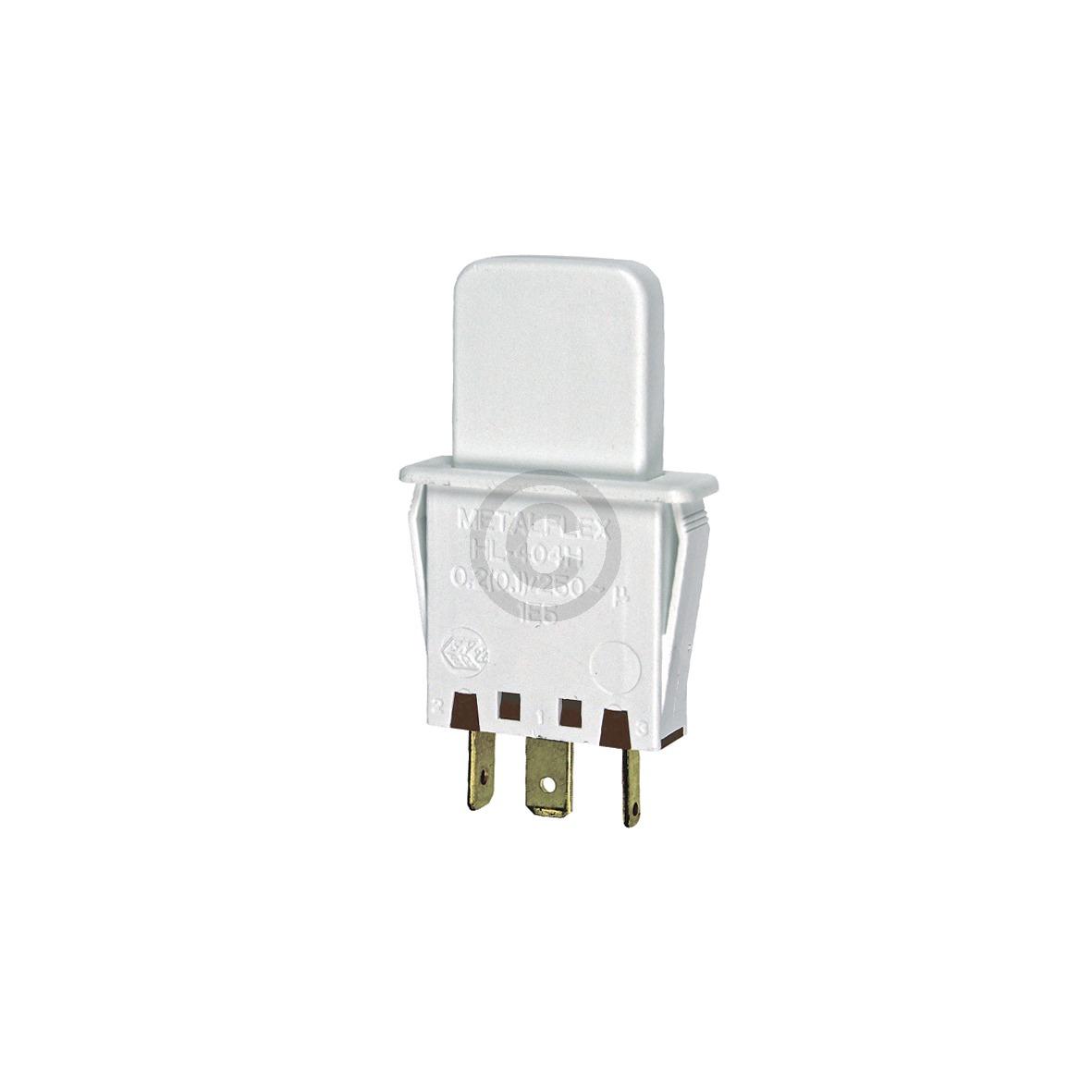 Tastenschalter 1-fach fürs Licht 00607217 607217 Bosch, Siemens, Neff