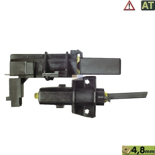 Motorkohlen kpl. 4,8AMP, AT! 481236248004 Bauknecht, Whirlpool, Ikea