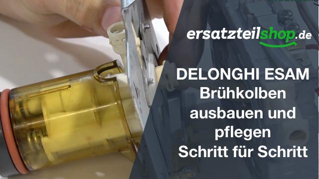 DeLonghi ESAM Thermoblock mit Brühkolben - ausbauen - ersetzen - tauschen - einbauen