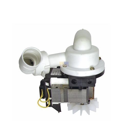 Ablaufpumpe wie Bauknecht 481236018004 Plaset mit Pumpenkopf für Geschirrspüler
