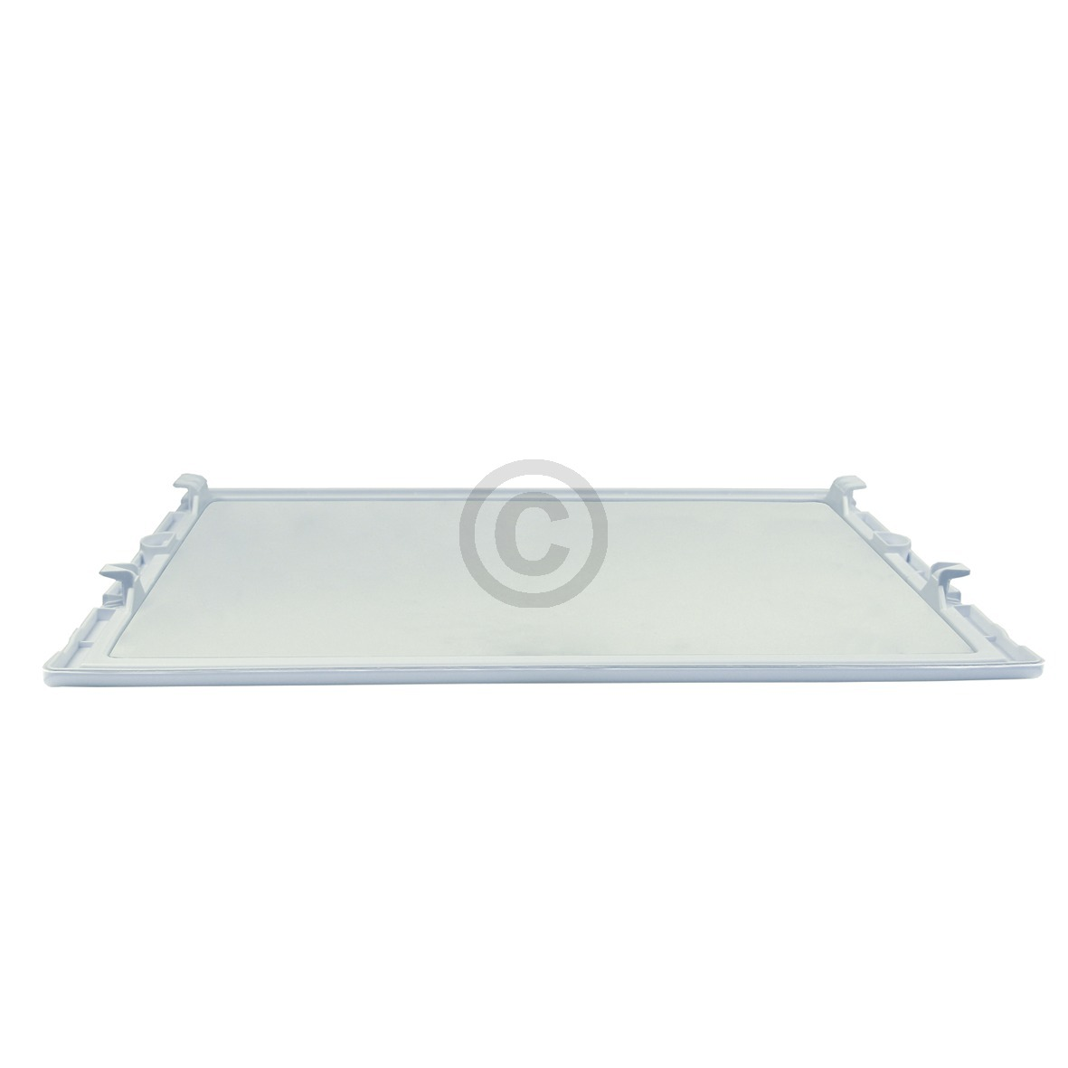 Glasplatte Bosch 00662037 440x363mm mit Kunststoffwinkeln