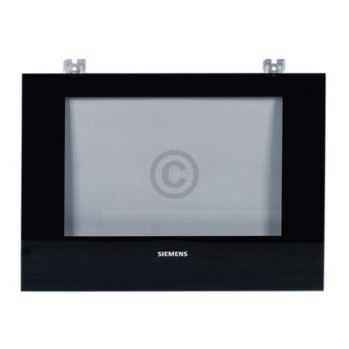Außenfenster schwarz Siemens 00771900 Frontglasscheibe für Backofentüre Herd