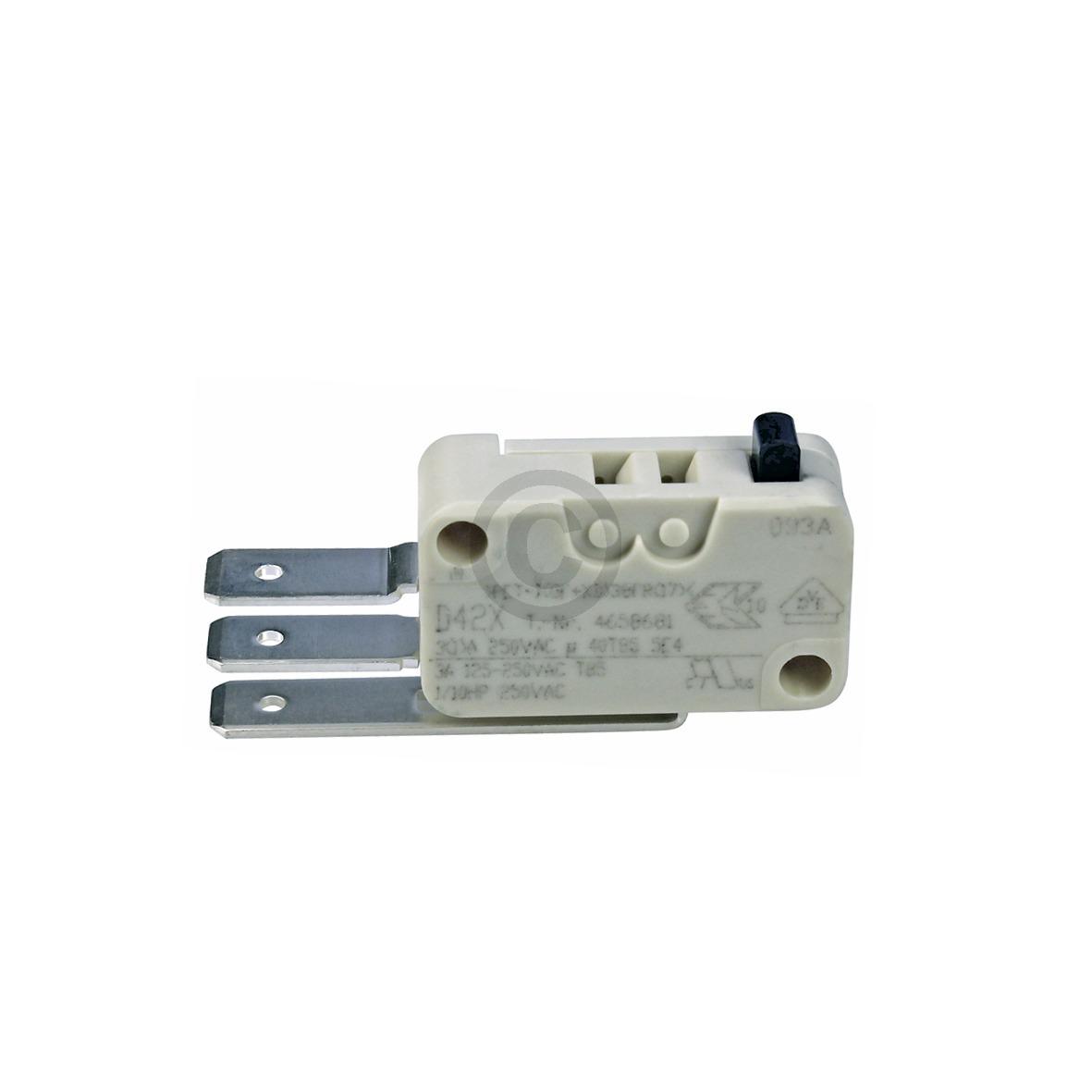 Miele Mikroschalter für Wasserstandsregler / Schwimmer 4658672