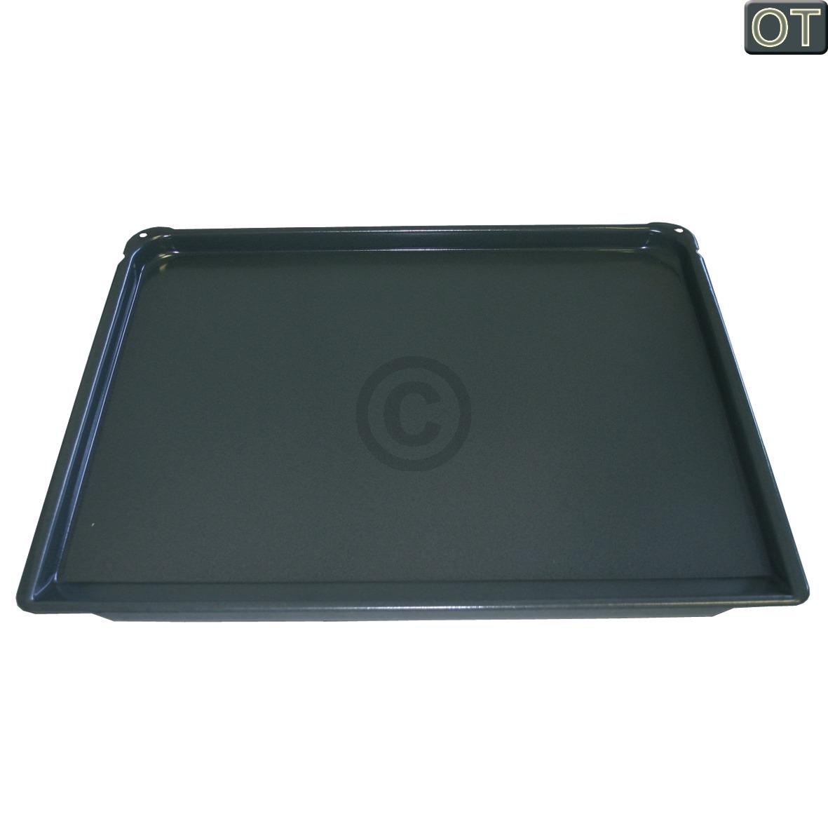 Backblech Neff 00434038 456x370x23mm emailliert für Backofen