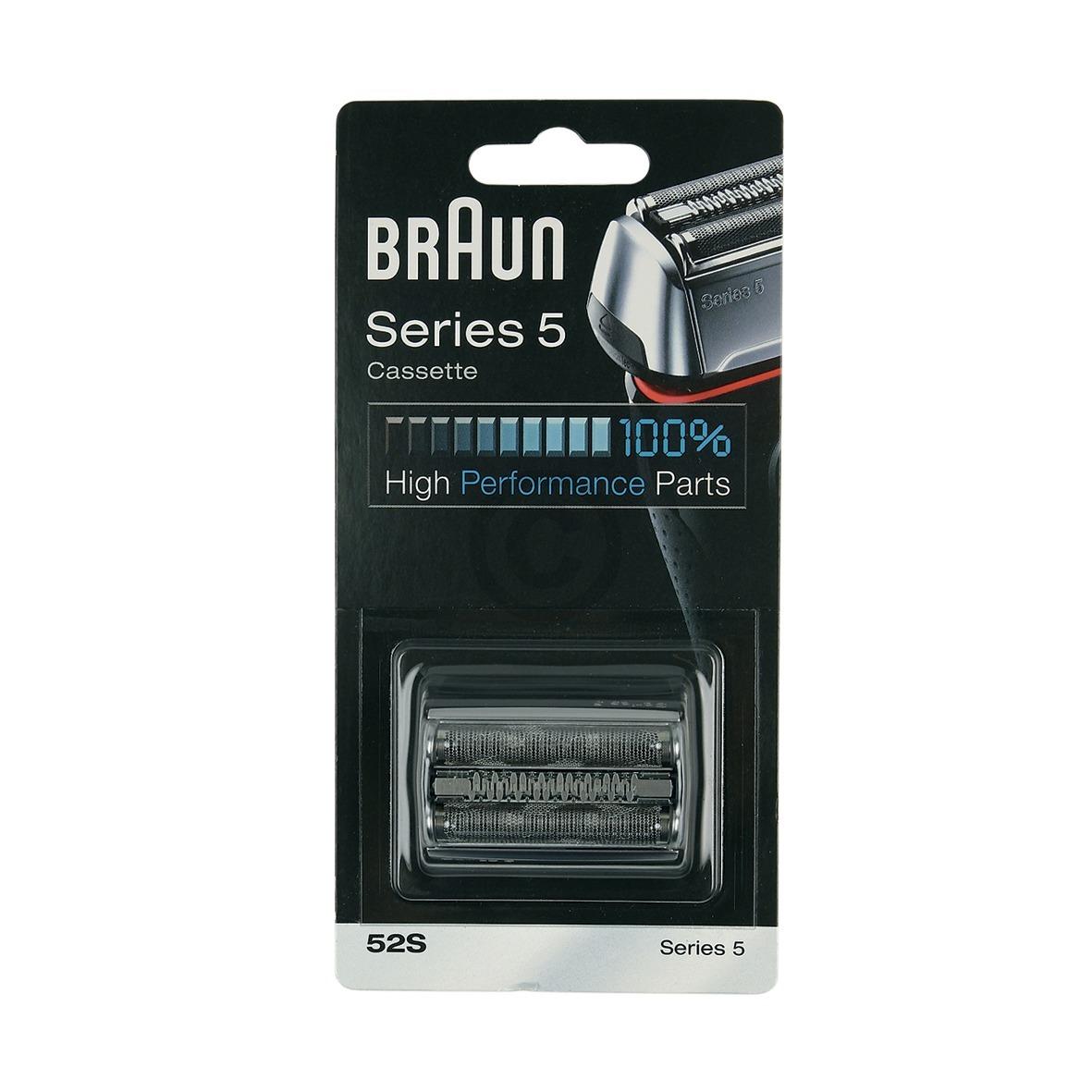 Kombipack Braun 52S, silber Braun