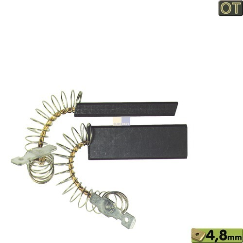 Kohlen 12,3x4,8x35mm 4,8mmAMP, OT! 00154740 154740 Bauknecht, Whirlpool, Ikea