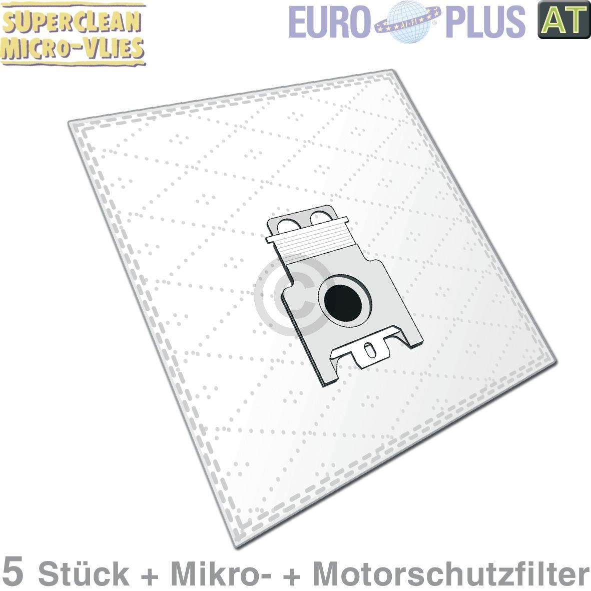 Filterbeutel Europlus M309mV, AT! Miele, AEG, Electrolux, Juno, Zanussi, für Mel