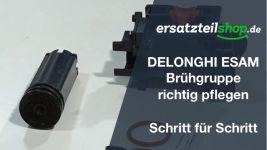 DeLonghi ESAM Brühgruppe - reparieren - pflegen