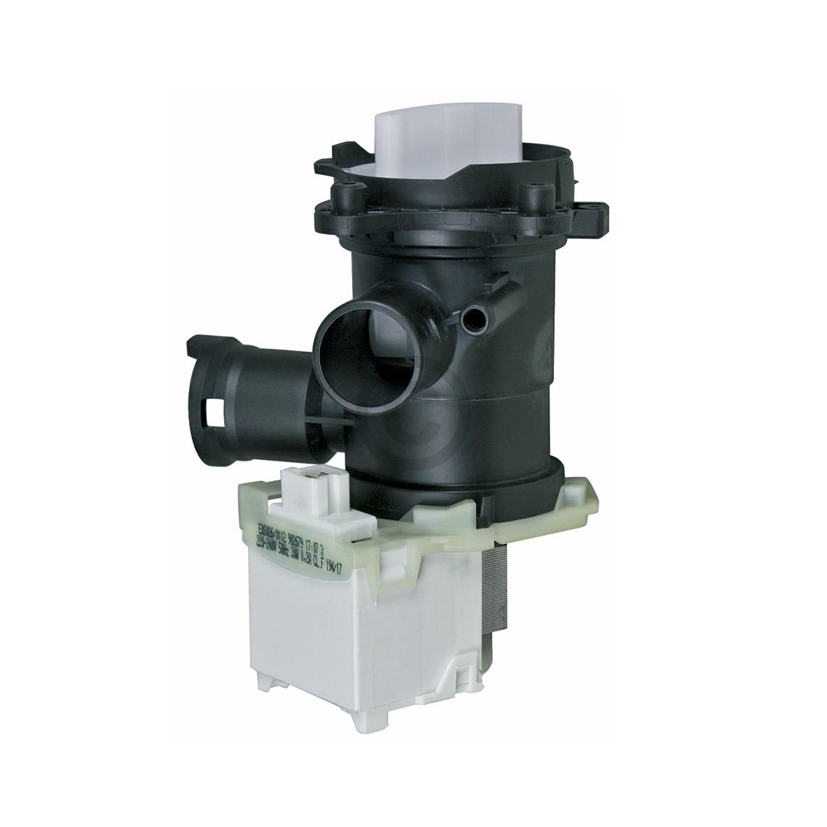 Ablaufpumpe Bosch 00145777 Copreci mit Pumpenkopf und Sieb für Waschmaschine