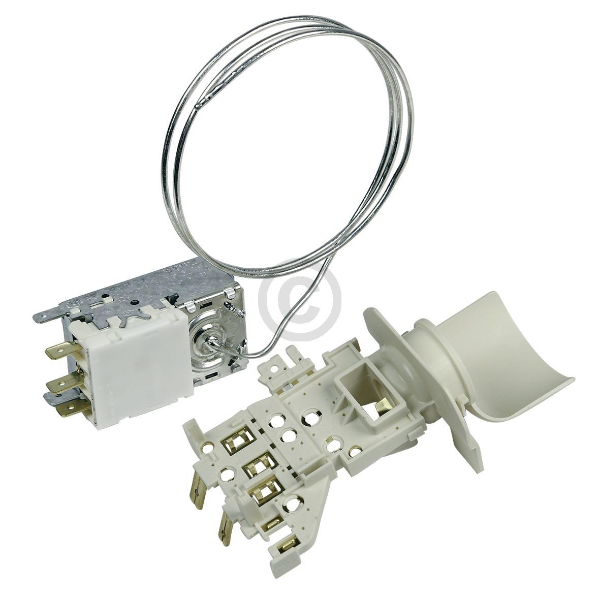Thermostat K59-S1880 Ranco mit Lampenfassung Whirlpool 481228238231