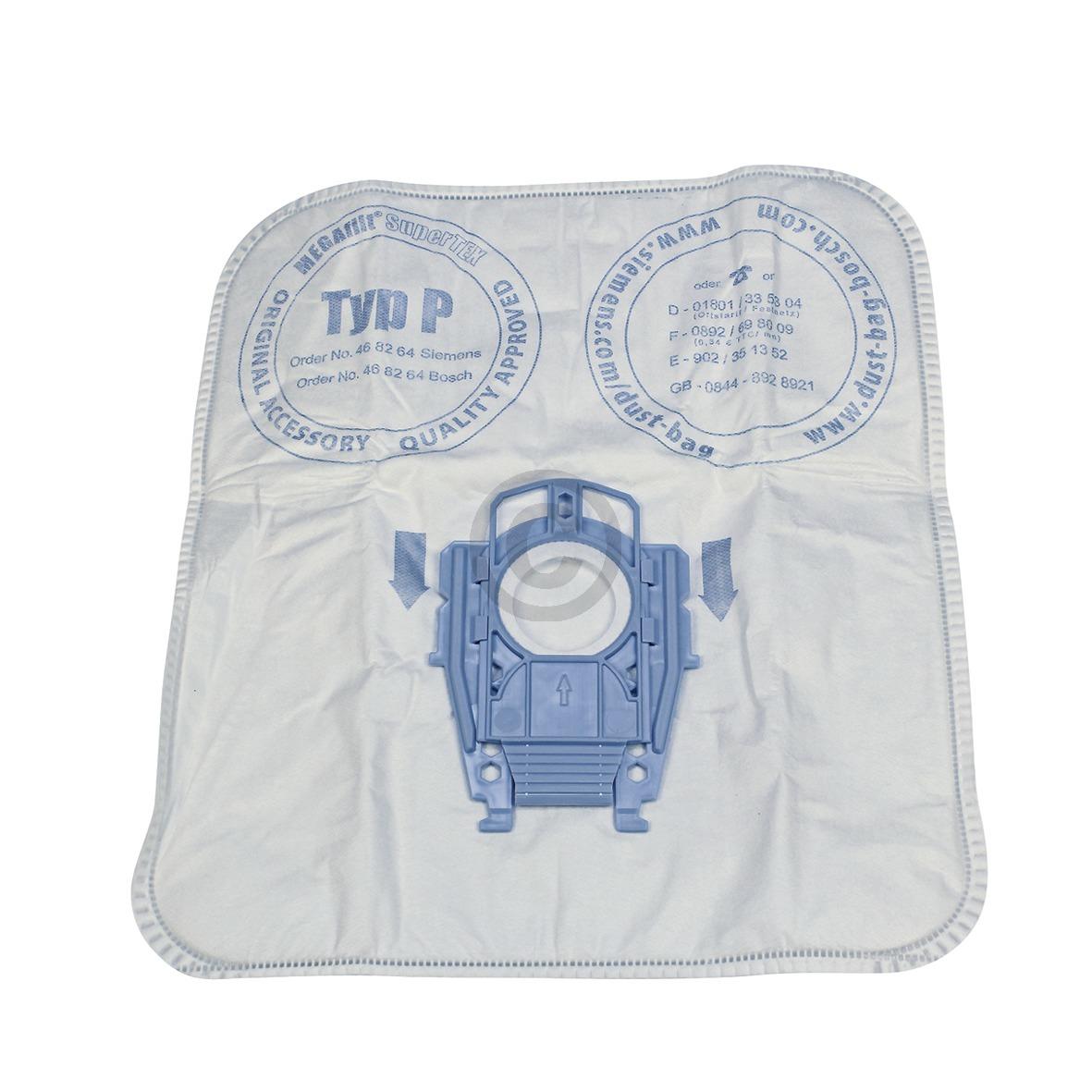 Filterbeutel BSH TypP, OT! 00468264 468264 Bosch, Siemens, Neff, Bosch, Siemens
