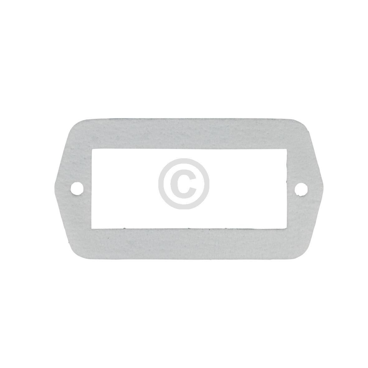 Lampenabdeckungsdichtung Gaggenau 00160643 Original für Herd Bosch, Siemens, Nef