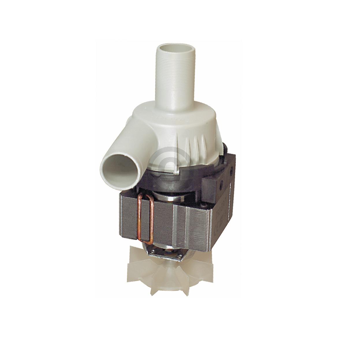Ablaufpumpe wie Miele HANNING KD22B3679 mit Pumpenkopf für Waschmaschine