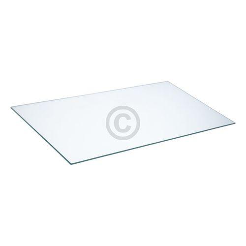 Glasplatte unten Whirlpool 481010603834 465x247mm für Kühlschrank