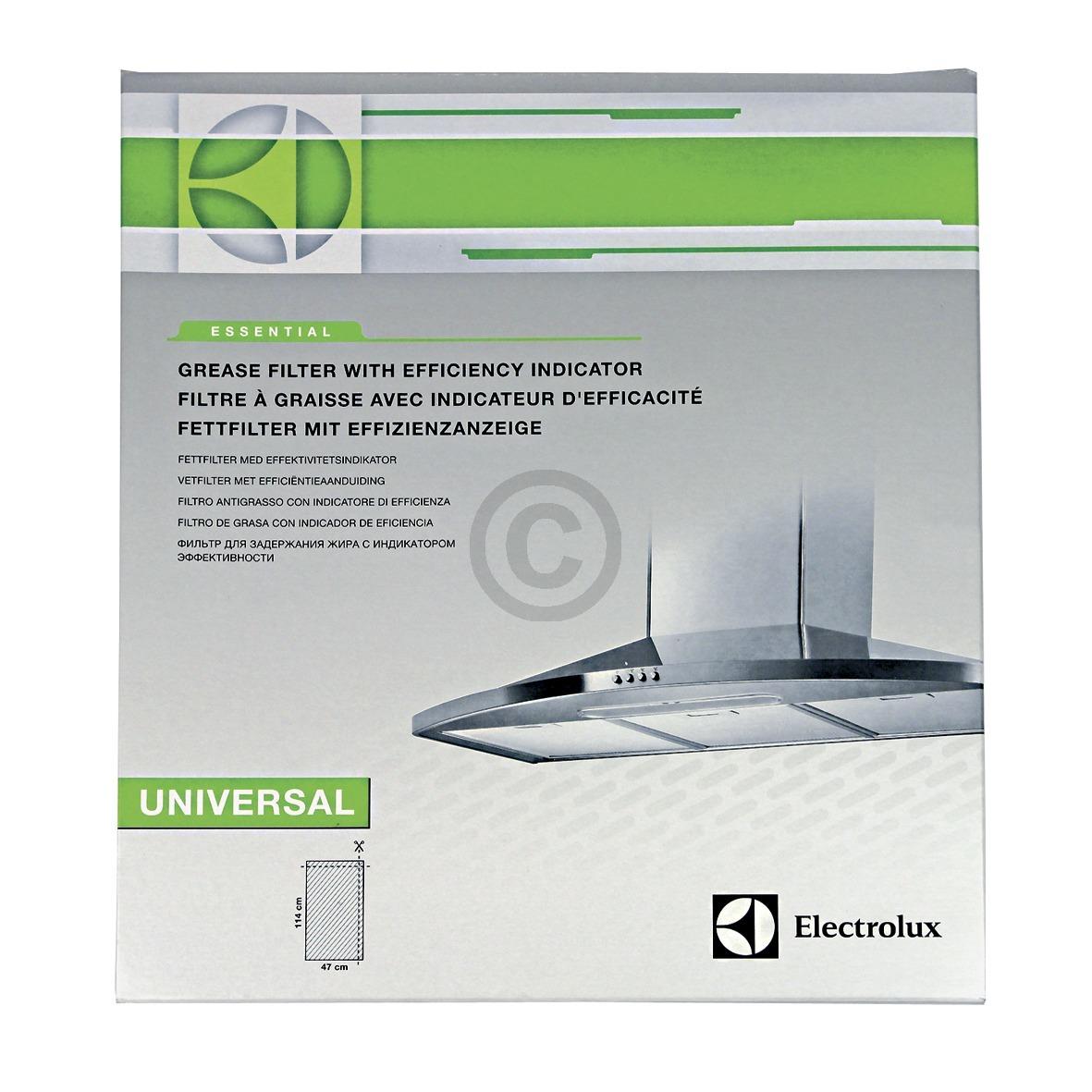 Fettfiltermatte 570x470mm Electrolux, 2 Stück, Universal! 902979217 AEG, Electro