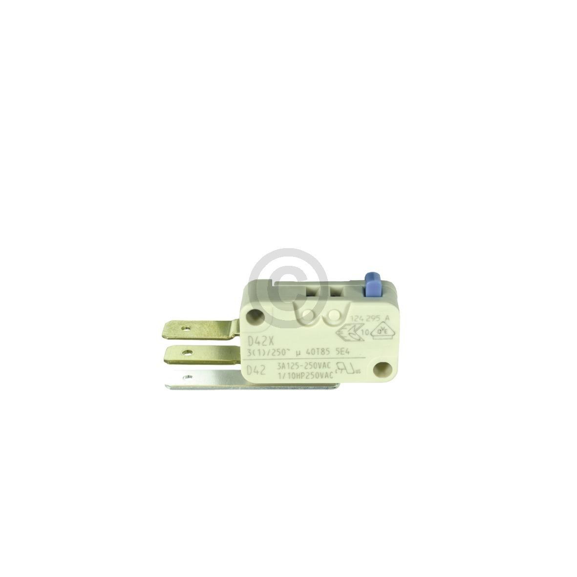 Mikroschalter für Wasserstandsregler 00165256 165256 Miele, Bosch, Siemens, Neff