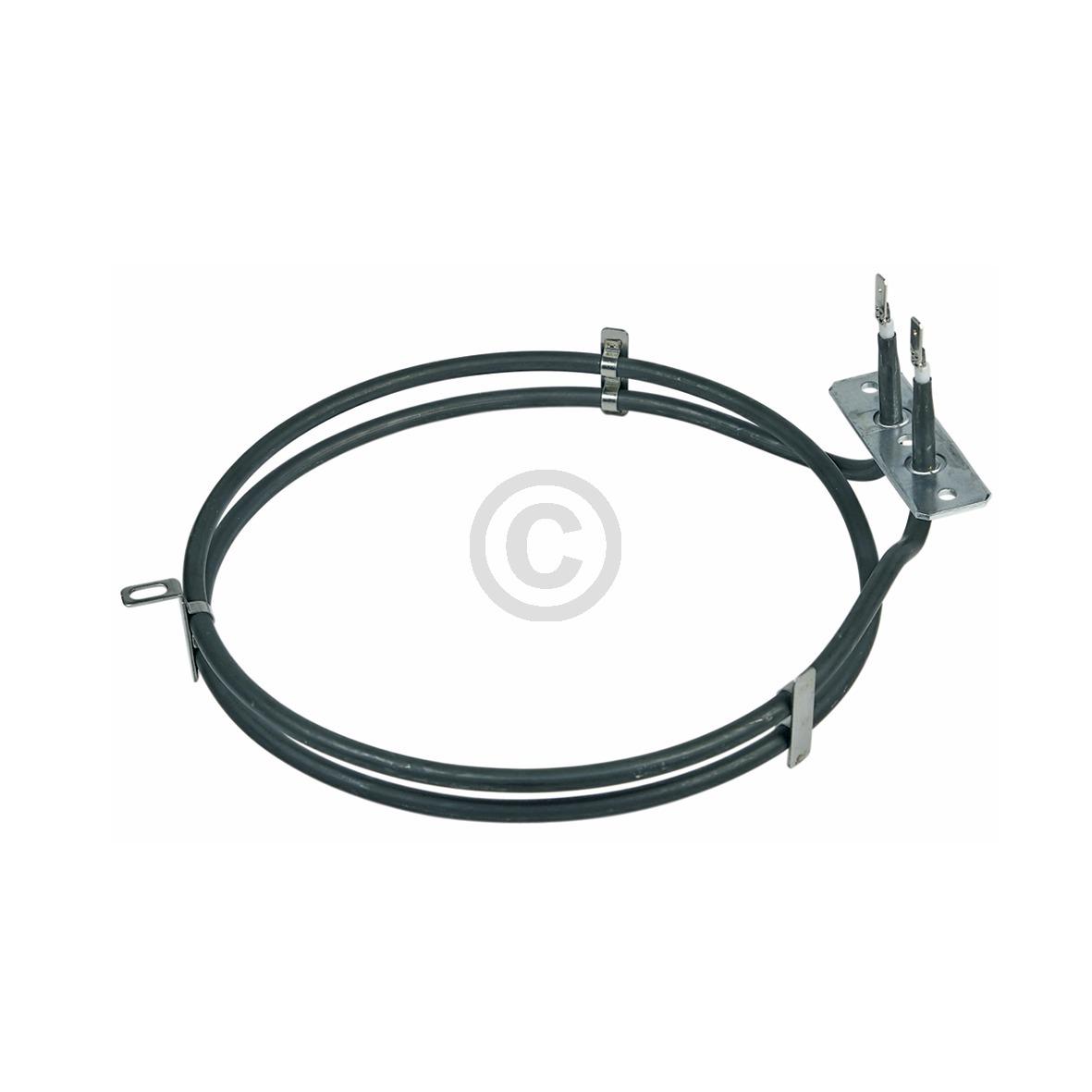 Heizelement Heißluft 2000W 230V, AT! 480121101186 Bauknecht, Whirlpool, Ikea