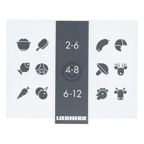 Info-Blende bedruckt Liebherr 7432400 für Kühlschrank