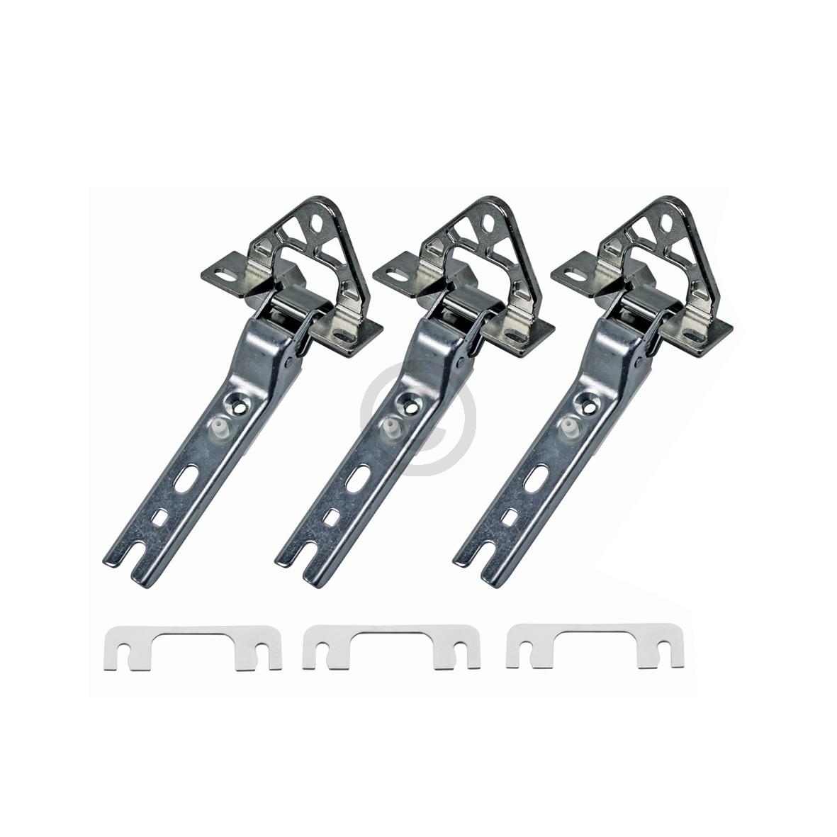 Türscharnier Einbau, 3 Stück 00268699 268699 Bauknecht, Whirlpool, Ikea, Bosch,