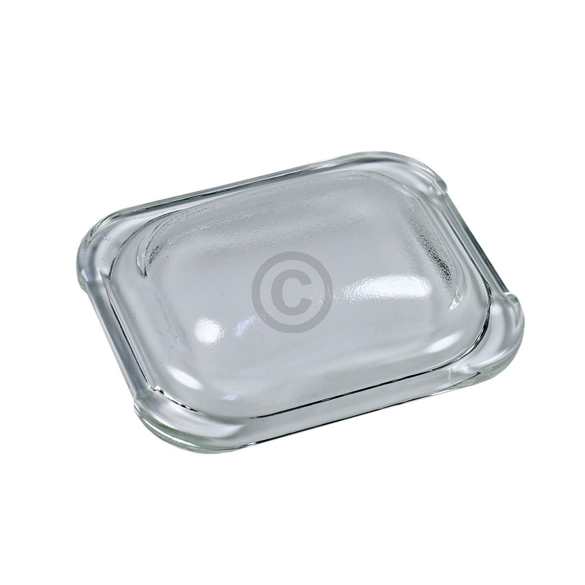 Lampenabdeckung 110x88mm, Glas 00187384 187384 Bosch, Siemens, Neff