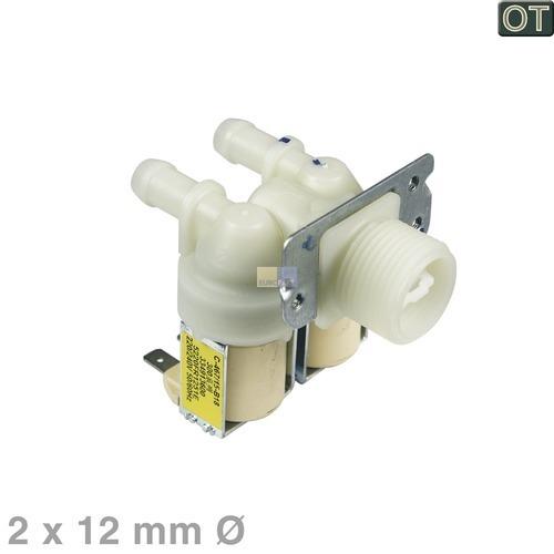 Magnetventil 2-fach 180° 12mmØ 5220FR1251E