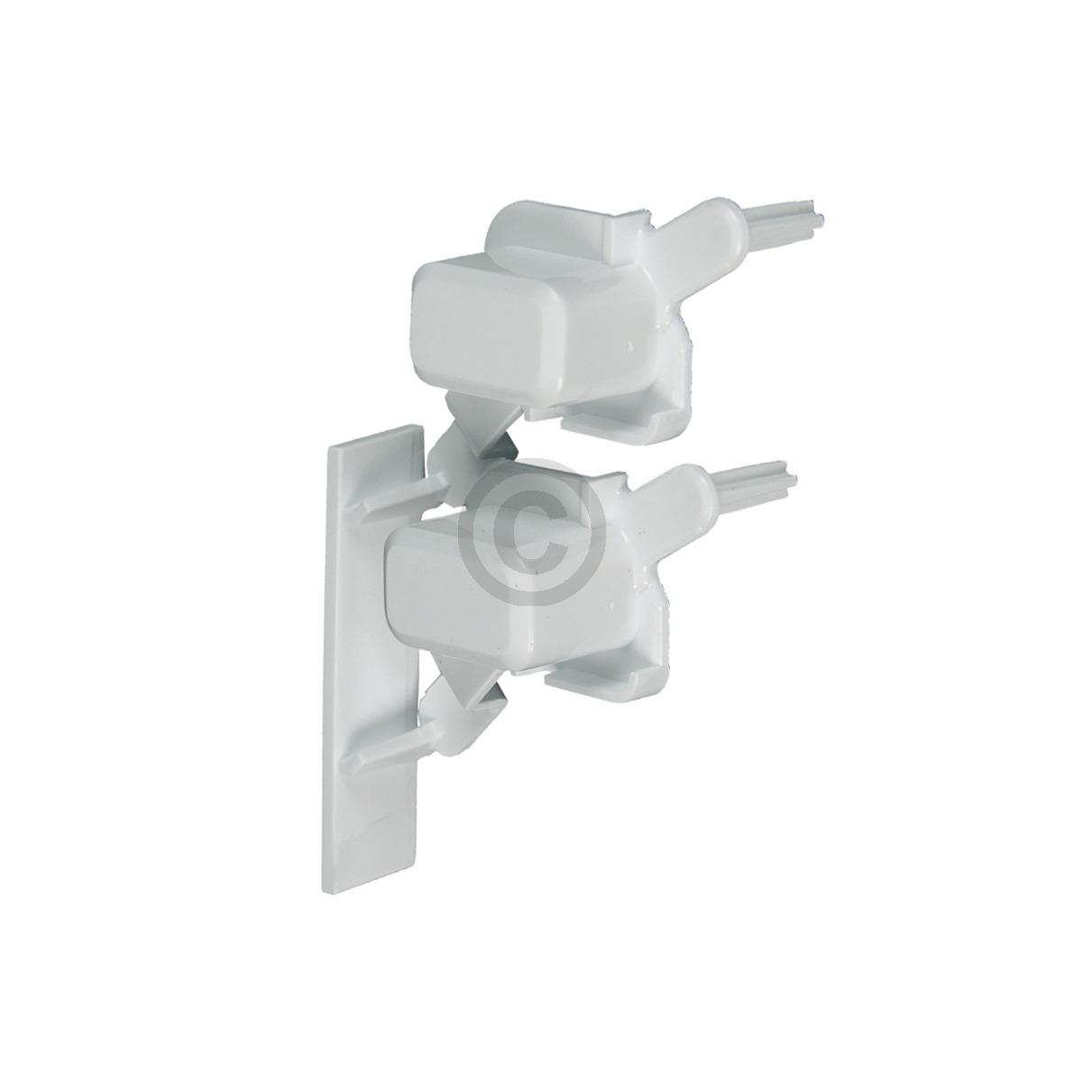 Tastenkappe weiß, 2-fach 481071425541 Bauknecht, Whirlpool, Ikea