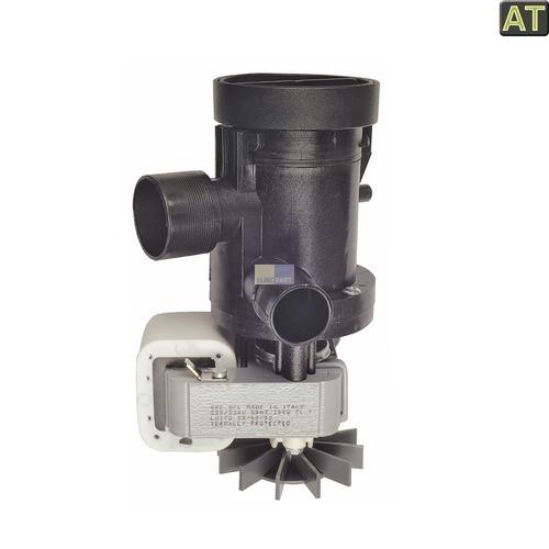 Ablaufpumpe wie AEG 899645430540/1 GRE mit Pumpenkopf und Sieb für Waschmaschine