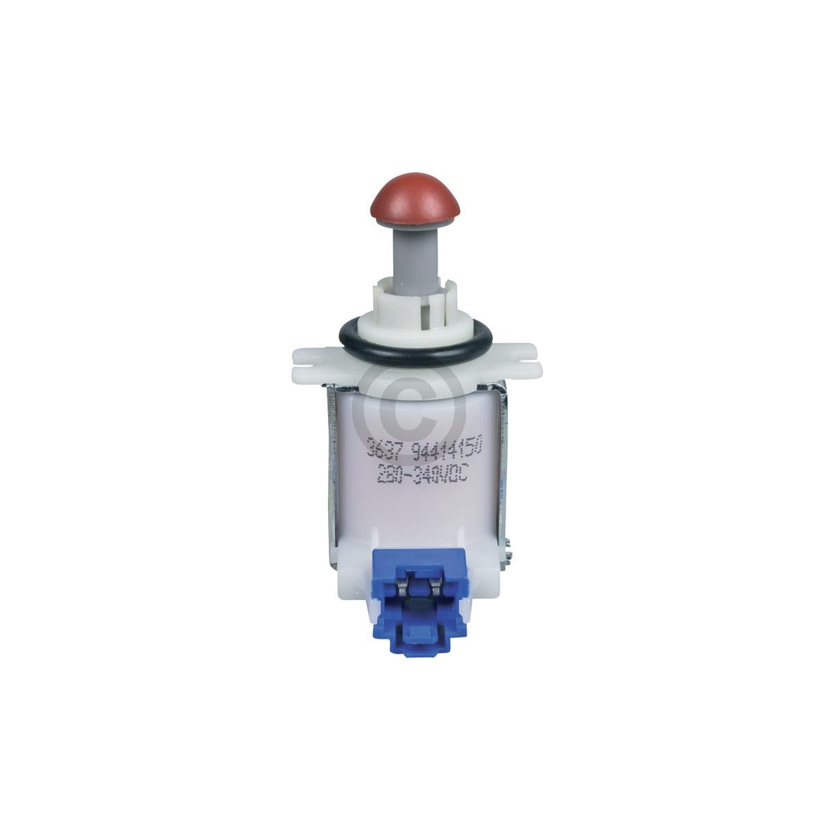 Ventil Bosch 00631199 für Wassertasche unten Geschirrspüler