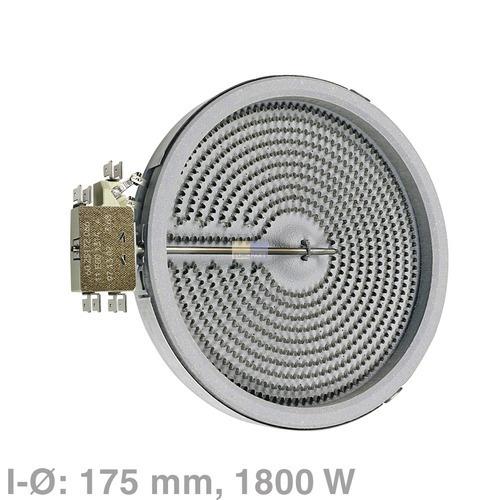 Strahlheizkörper 175mmØ 1800W 230V, NF! OT! 00647881. 647881. Bosch, Siemens, Ne