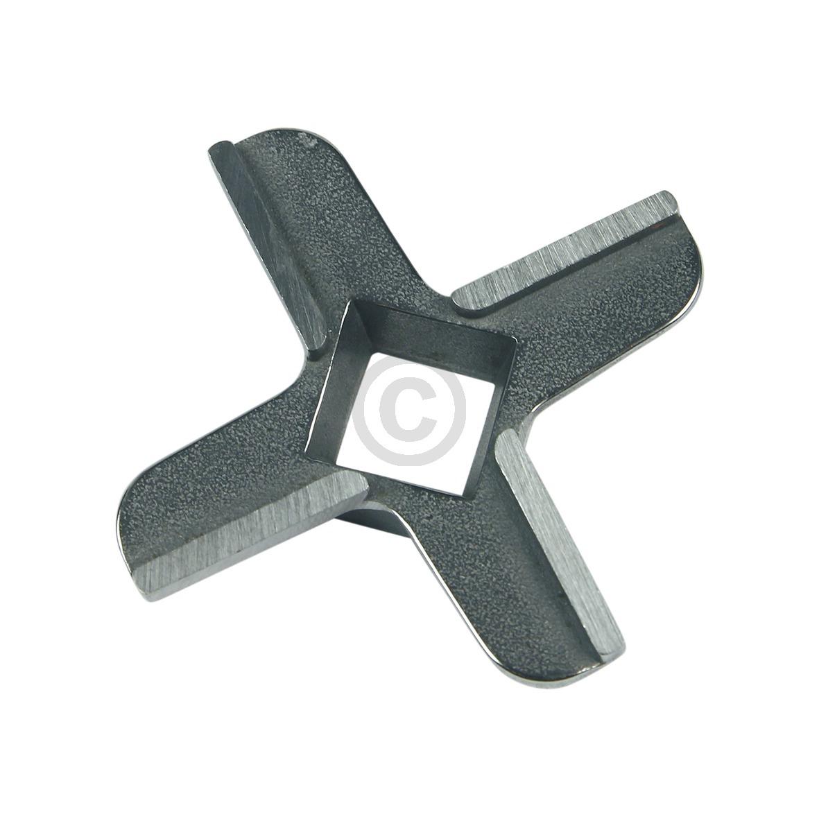 Messereinsatz Ersatzmesser Messer Sechskant Aufnahme Moulinex HV2 und HV4