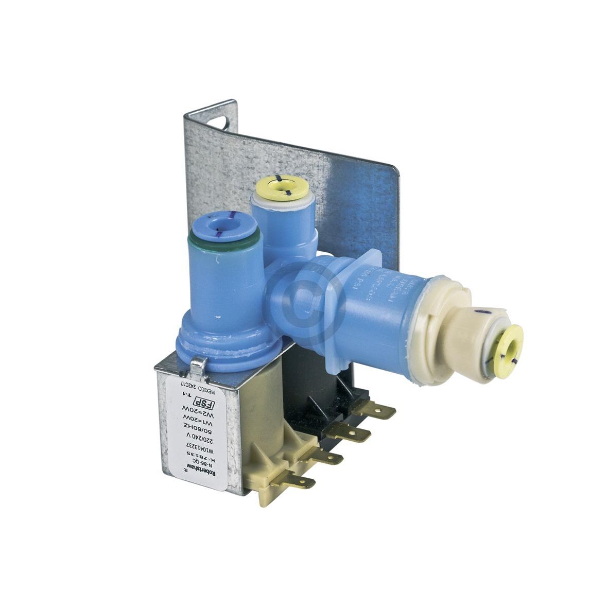 Wasserventil Whirlpool 481010413237 Original für Kühlschrank Side-by-Side