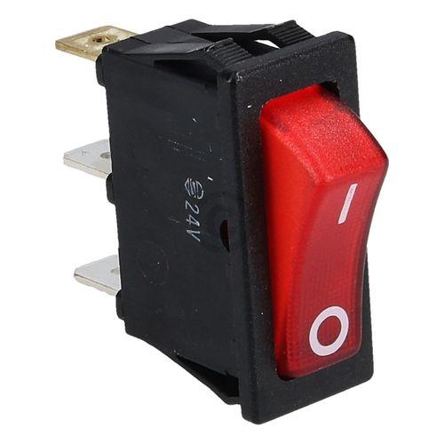 Wippschalter DOMETIC 292627350 Ein Aus rot leuchtend 12V 24V für Heizpatrone
