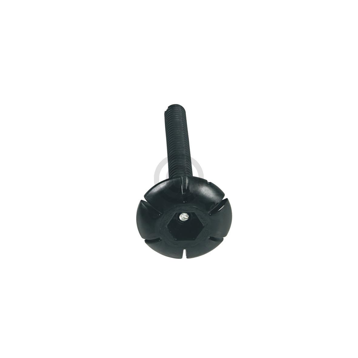 Gerätefuß Einstellfuß vorne schwarz 115mm 117368700 AEG, Electrolux, Juno, Zanus