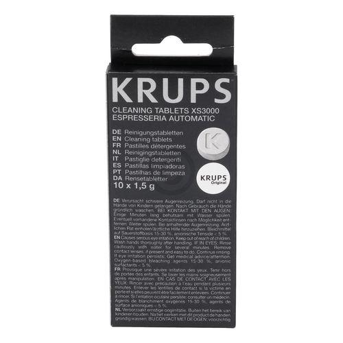 Reinigungstabletten Krups XS300010 für Kaffeemaschine Espressomaschine