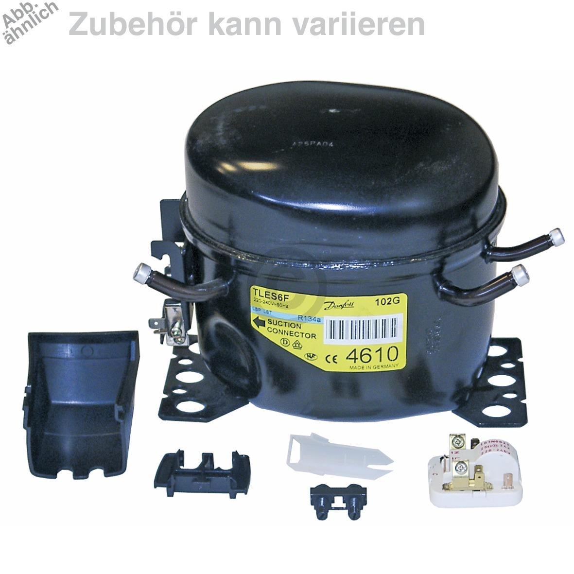 Kompressor für R134A 1/8PS C00144748 Bosch, Siemens, Neff, Liebherr, Indesit Hot
