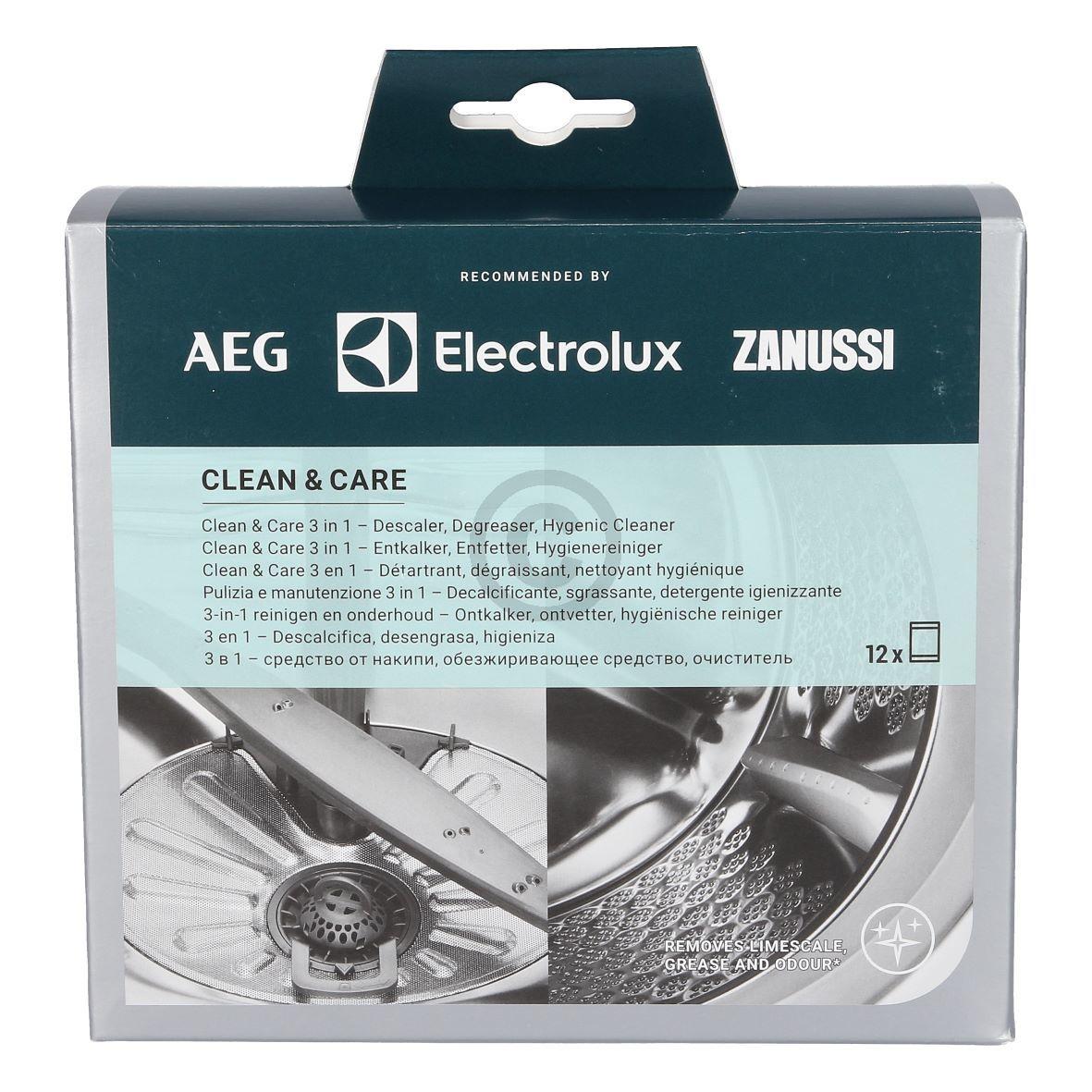 Maschinen-Reiniger Electrolux Clean&Care-Box 10x50g 902979274/5