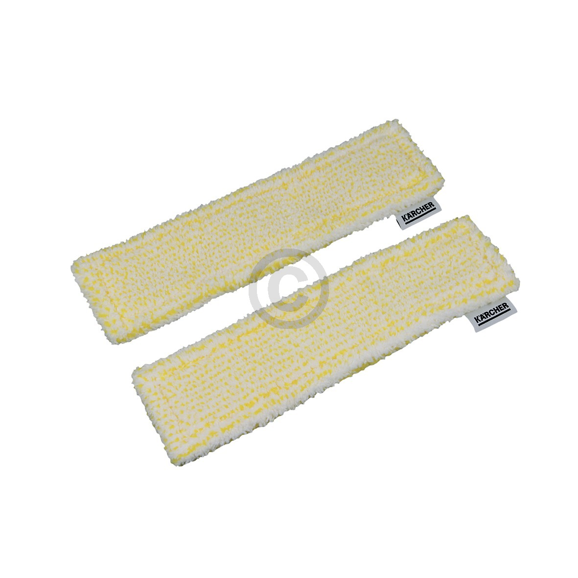 Mikrofaser-Wischbezug Indoor für Akku-Fenstersauger, 2 Stück 2.633-130.0 Kärcher
