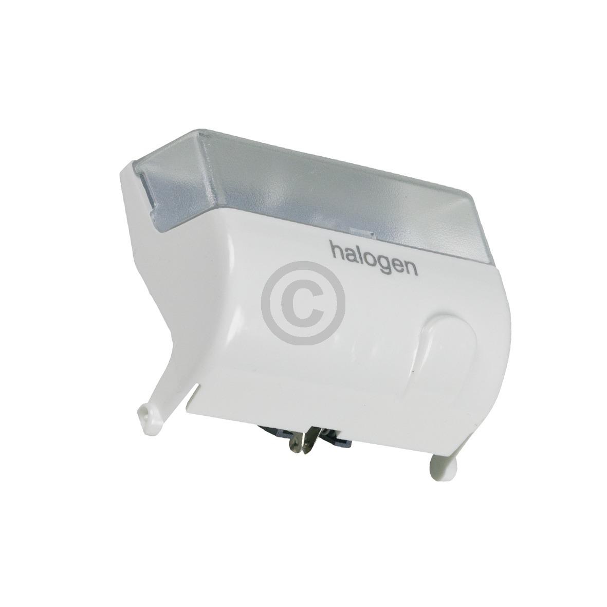 Halogenlampe Bosch 00299103 kpl mit Gehäuse für Kühlschrank
